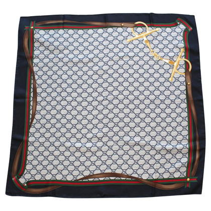 Gucci silk carré scarf