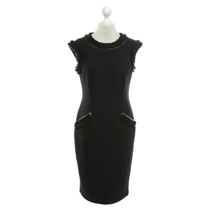 Steffen Schraut Black shift dress