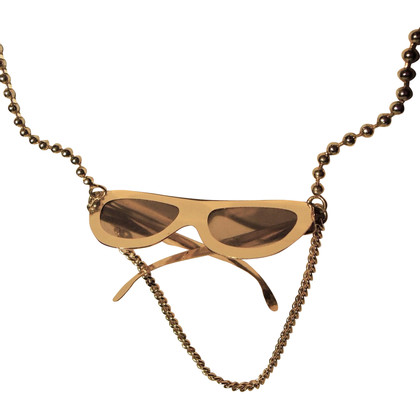 Marc Jacobs Necklace with sunglasses motif