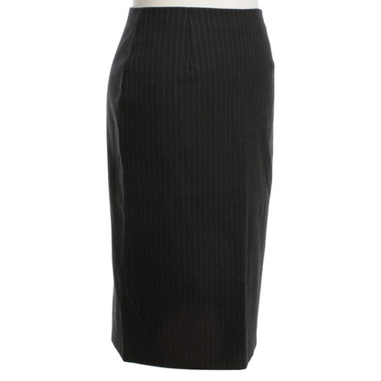 René Lezard skirt with pinstripe pattern