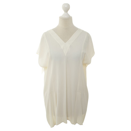 Philosophy di Alberta Ferretti Short sleeve blouse with pleated back