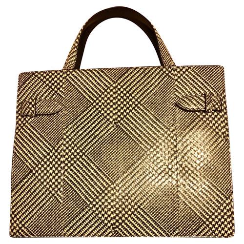 komplettes Angebot an Artikeln lebendig und großartig im Stil neue Version Salvatore Ferragamo Tasche aus Echsenleder - Second Hand ...