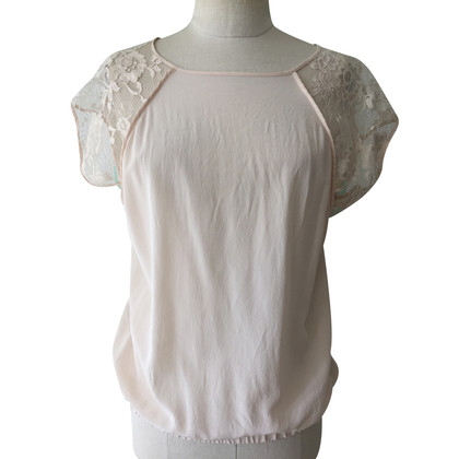 Pinko Top lace and silk