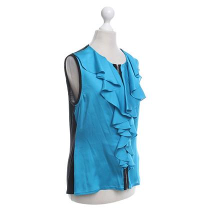 Karen Millen top in turquoise