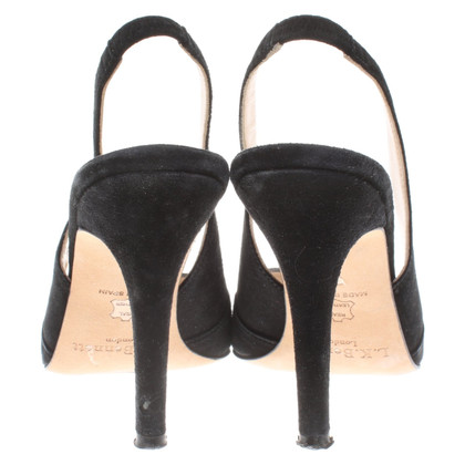 L.K. Bennett Slingbacks in black