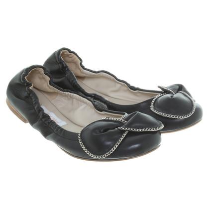 Chloé Ballerina's in zwart