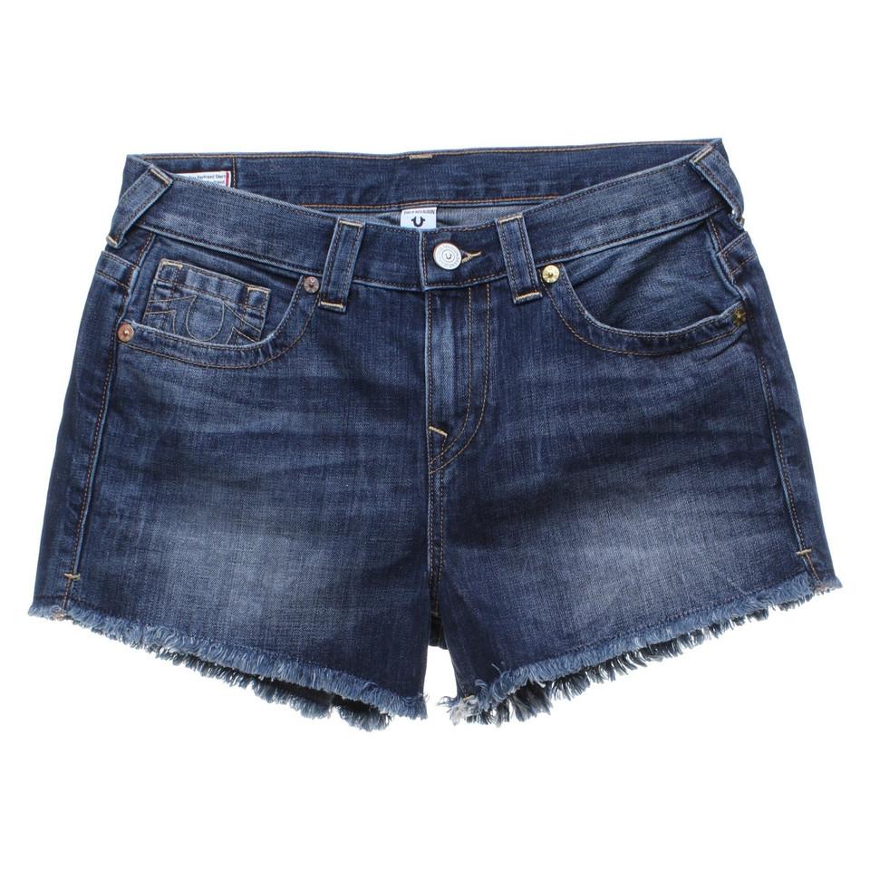 true religion pantaloncini di jeans in blu compra true religion pantaloncini di jeans in blu. Black Bedroom Furniture Sets. Home Design Ideas