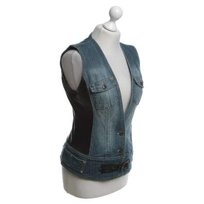 Karen Millen Giubbotto jeans / pelle