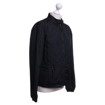 Prada Jacket with rhombic stitching
