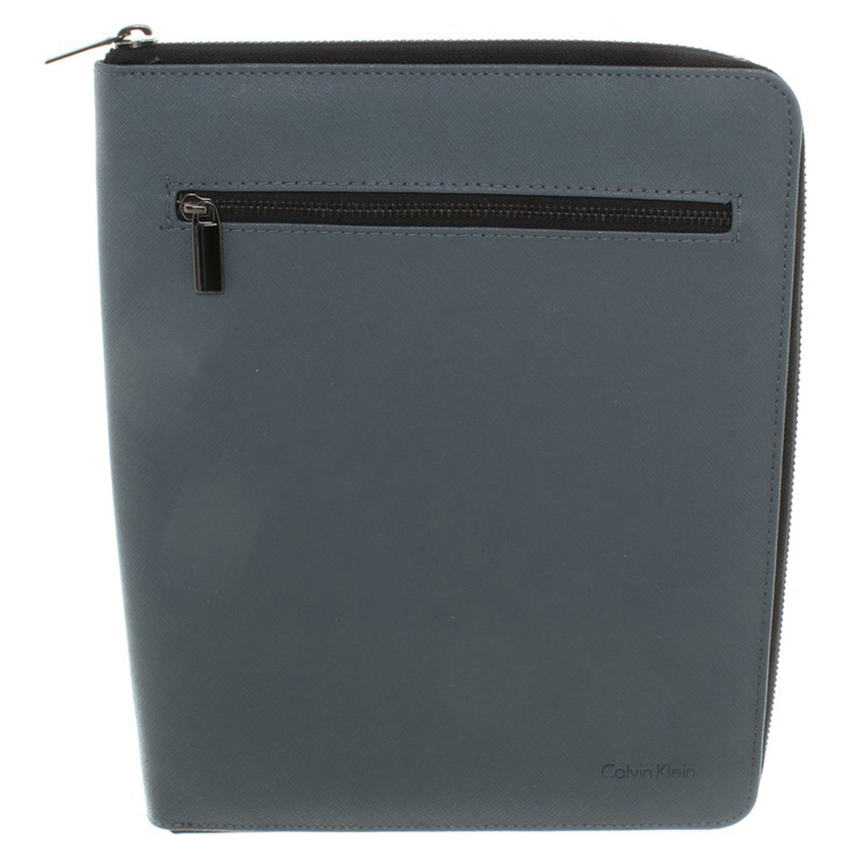 calvin klein tablet case in gray buy second hand calvin. Black Bedroom Furniture Sets. Home Design Ideas