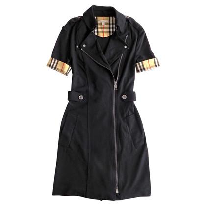 Burberry Kleid mit Tartan Details