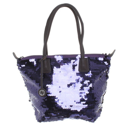 Laurèl Shopper with paillettes