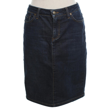 Gant Denim skirt in dark blue
