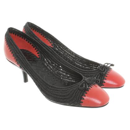 Bottega Veneta Schuhe mit Bastgeflecht