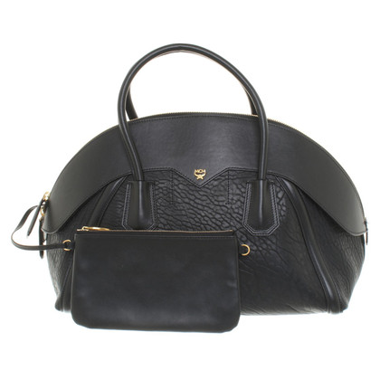 MCM Leather handbag in black