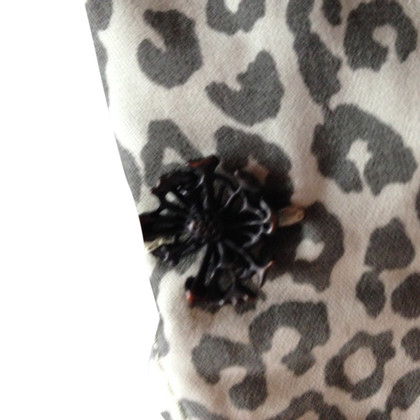 Maison Scotch Boyfriend jeans met animal print