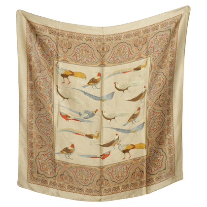 Jil Sander Silk scarf with paisley pattern