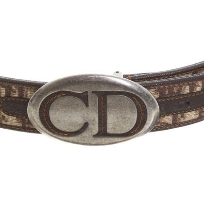 Christian Dior riem met logo gesp
