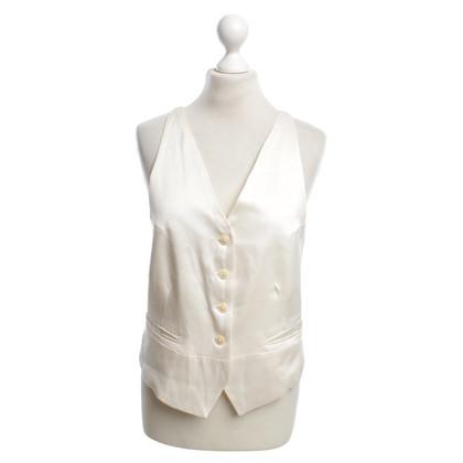 Ann Demeulemeester Vest in cream