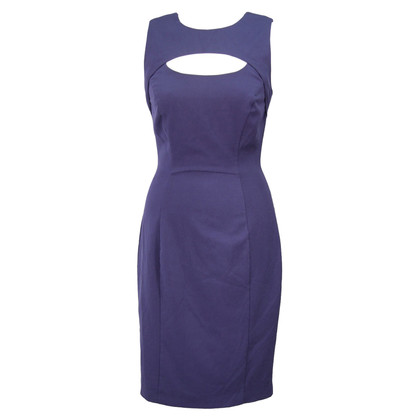 French Connection Midi dress in dark blue