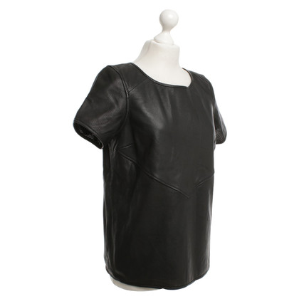 Maison Scotch Top in nero