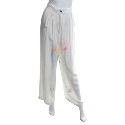 Stine Goya Silk trousers in cream