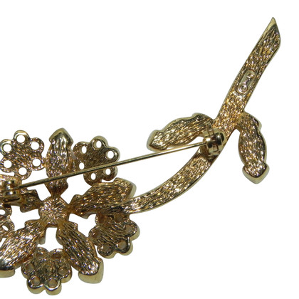 Christian Dior Brooch with stones