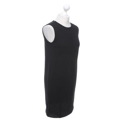 Armani Robe en laine noire
