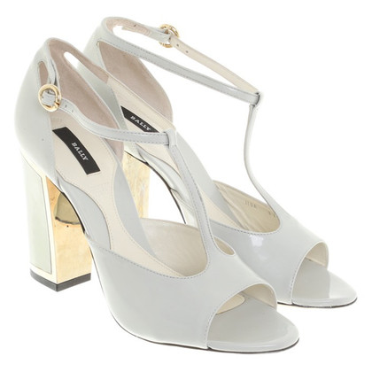 Bally Sandalen Patent Leather