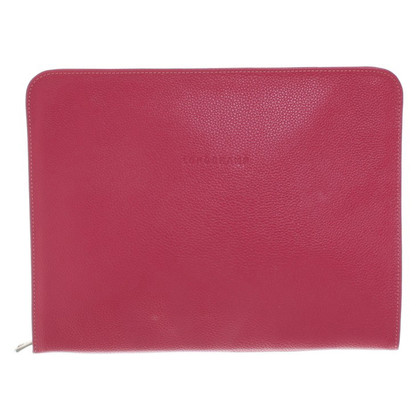 Longchamp Laptop bag in fuchsia