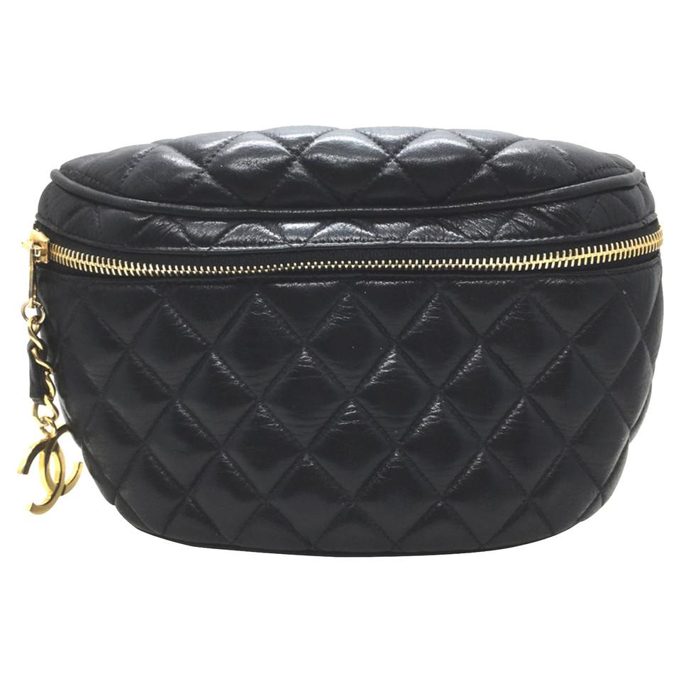 Chanel Chanel Lamskin Fanny Pack Waist Black