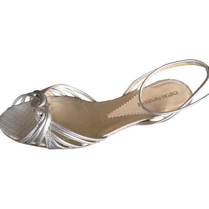 Armani Sandals silver
