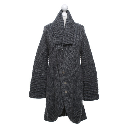 Windsor Knitted coat in grey