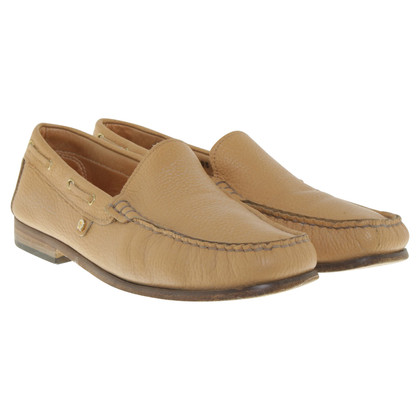 Aigner Camelfarbene Loafer