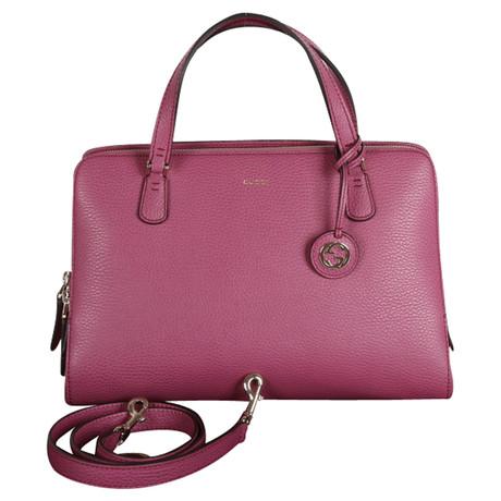 Gucci Rosa Tote Ledertasche Rosa / Pink Lieferung Frei Haus Mit Mastercard JZ1Mg3d