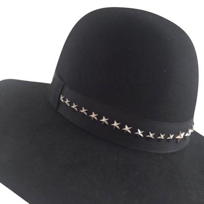 Jimmy Choo Black hat