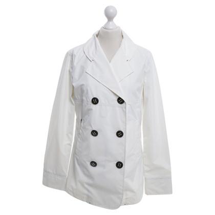 Armani giacca antipioggia in bianco