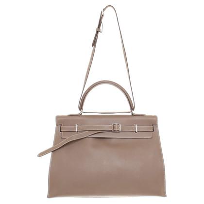 "Hermès ""Kelly Flat Bag Swift leder"""
