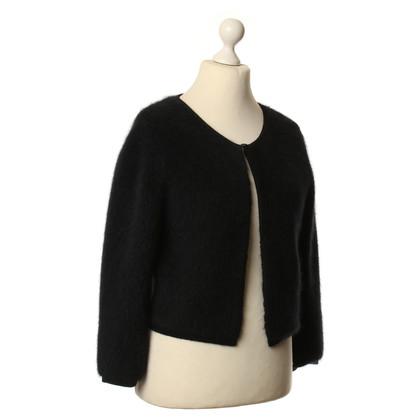 Max Mara Short evening jacket in black