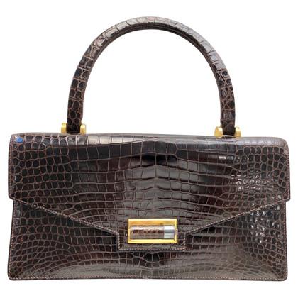 Hermès Borsa a mano in pelle di coccodrillo