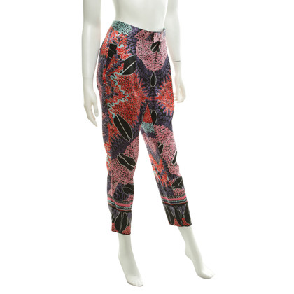Iceberg Silk trousers with pattern