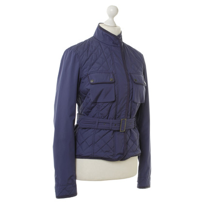 Belstaff Blue Quilted Jacket