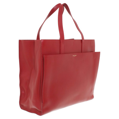 Saint Laurent Handtas in rood