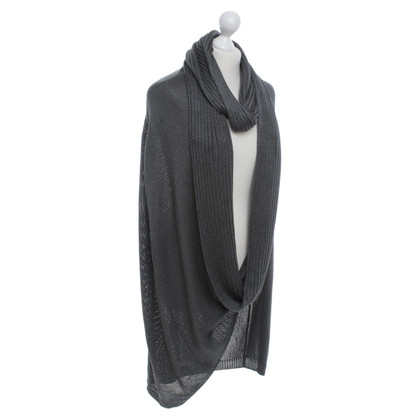 Stefanel Poncho made of knit