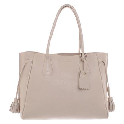 Longchamp Handtasche in Beige
