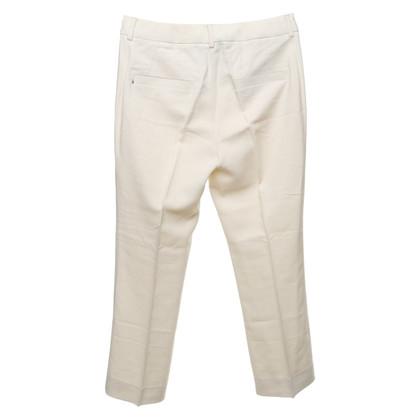 Sport Max trousers in cream white