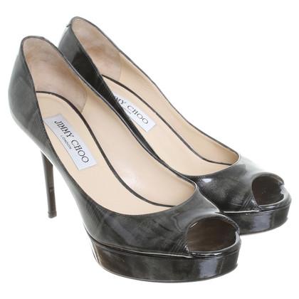 Jimmy Choo Peep-toes in grey