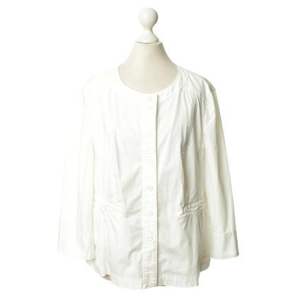 Luisa Cerano Blazer jacket in white