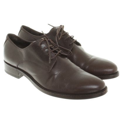 Jil Sander Veterschoenen Brown