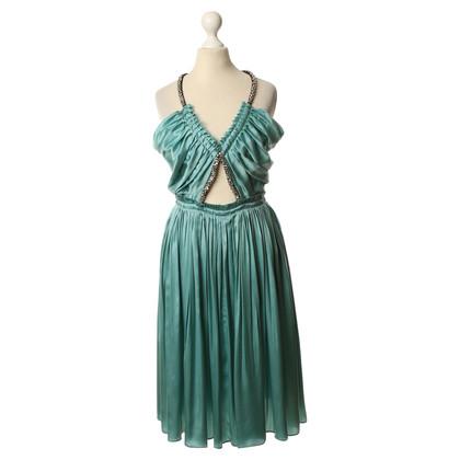 Chloé zijden jurk toepassing